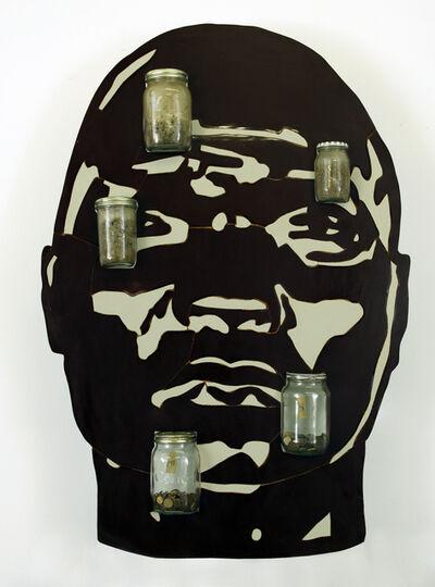 Brett Murray, 'Kopf aus Holz', 1996