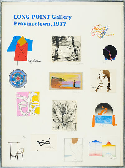 Robert Motherwell, '1977 Long Point Gallery Poster, Provincetown', 1977