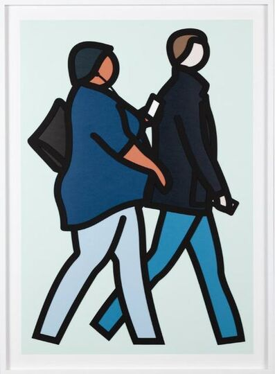 Julian Opie, 'New York Couple 2', 2019
