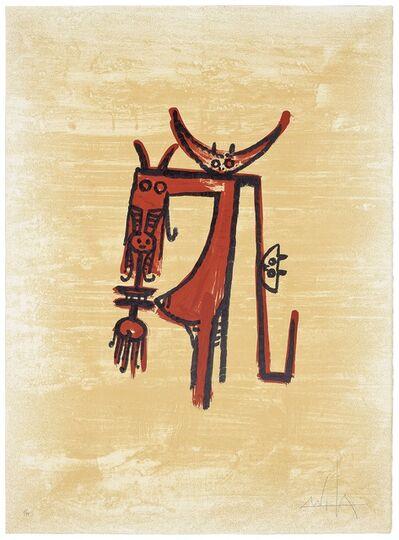 Wifredo Lam, 'El último viaje del buque fantasma (image 1)', 1976