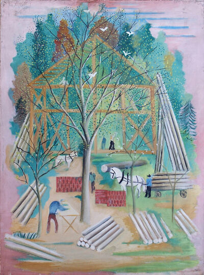 Serge Férat, 'The House Constructio', 1930