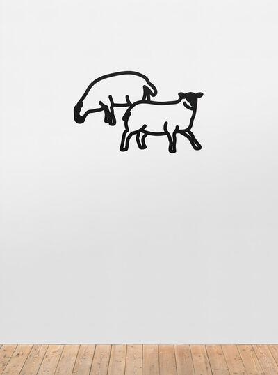Julian Opie, 'Sheep 2.', 2015