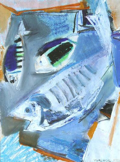 Vaclav Vytlacil, 'Three Fish [Martha's Vineyard, Massachusetts]', 1970
