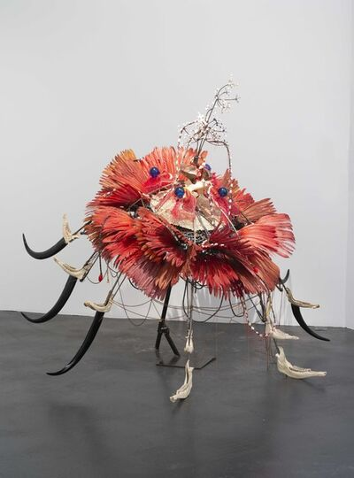 Rina Banerjee, 'Native Flower, Prometheus blooms.', 2018