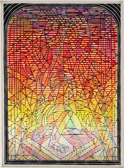 Andrew Schoultz, 'Sun Worshiper', 2020