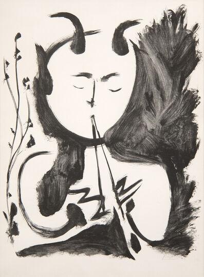 Pablo Picasso, 'Faune Musicien No. 4', 1948