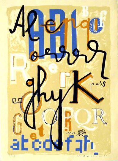 Javier Mariscal, 'Tipografia II'