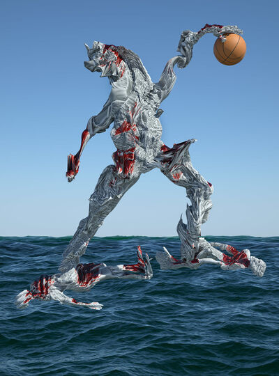 Shamus Clisset, 'Disco Surf Dunking on your Enemies', 2015
