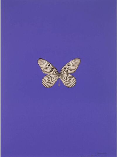 Damien Hirst, 'It's A Beautiful Day (purple)', 2013