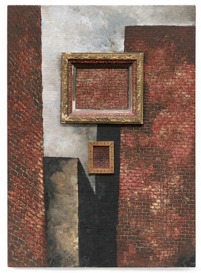 Martin Wong, 'Untitled (with brick in brick)', 1988