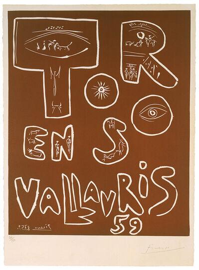 Pablo Picasso, 'Toros en Vallauris 59', 8.7.1959