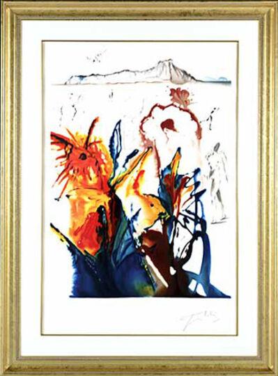 "Salvador Dalí, '""The Mystery of Diamond Head"" Hand Signed Salvador Dali Lithograph', 1941-1957"