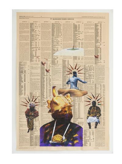 Godfried Donkor, 'Queen Mother', 2017