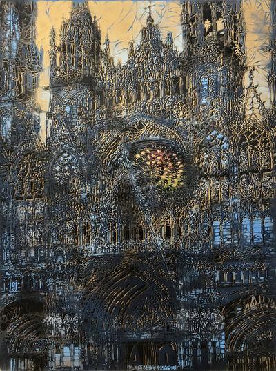 Artiste-Ouvrier, 'Cathédrale de Rouen', 2018