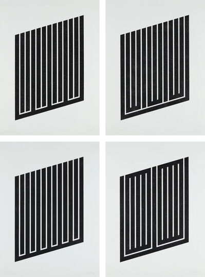 Donald Judd, 'Untitled: four plates', 1978-79