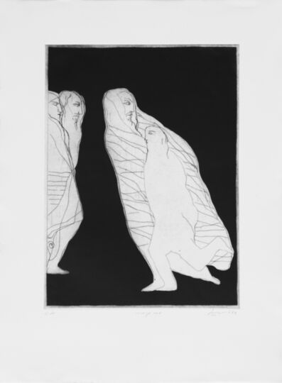 Dia Azzawi, '1001 Nights', 1986