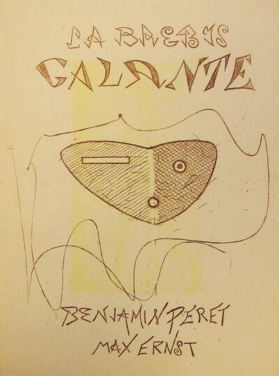 Max Ernst, 'La Brebis Galante by Benjamin Peret', 1949