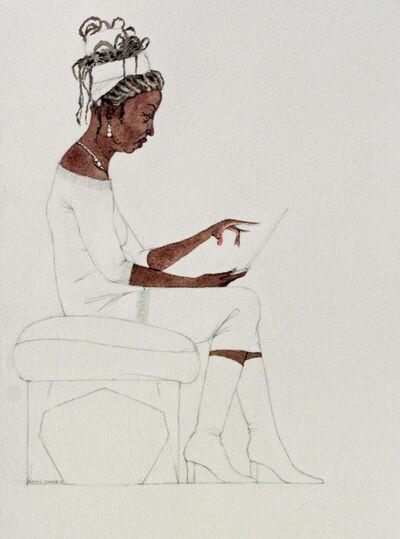 Kimathi Donkor, 'Notebook XXIII', 2018