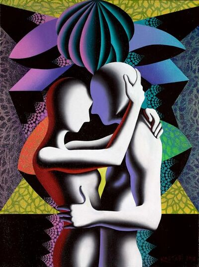 Mark Kostabi, 'A Glimpse of the Infinite ', 2018