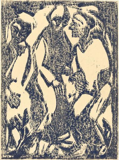 Christian Rohlfs, 'Deliberation (Beratung)', 1913