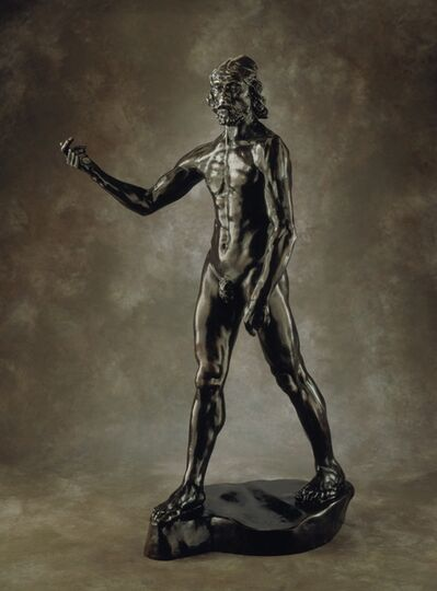 Auguste Rodin, 'Saint John the Baptist Preaching', first modeled 1878; this cast 1966