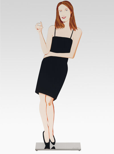 Alex Katz, 'Black Dress (Sharon)', 2018