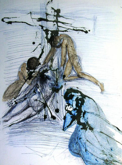 Salvador Dalí, 'The Taking Down From The Cross', 1967