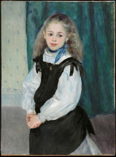 Pierre-Auguste Renoir, 'Portrait of Mademoiselle Legrand', 1875