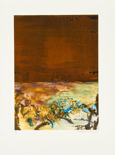 Zao Wou-Ki 趙無極, 'Untitled', 1986