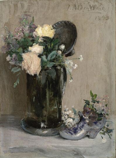 Julian Alden Weir, 'The Dutch Shoe', 1890
