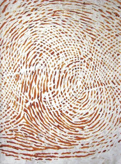 Chong Kim Chiew, 'Overlapping of Yellow Circle', 2008