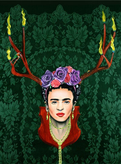 Jared Aubel, 'Fiery Frida Kahlo', 2012-2019