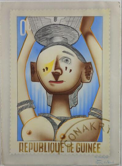 Larry Rivers, 'Republique de Guinée', 1977