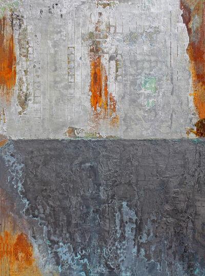 Willie Little, 'Graphite Metallic Grid', 2020