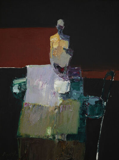 Danny McCaw, 'Figure at Table', 2020