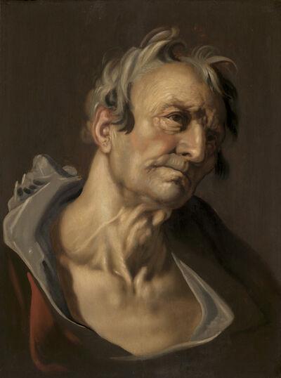 Abraham Bloemaert, 'Head of an Old Man'
