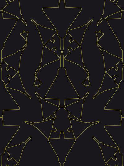 Zoulikha Bouabdellah, 'Mirage Graphic IV', 2012