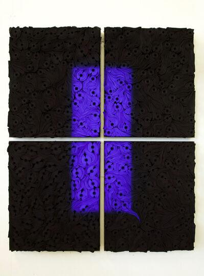 Jae Ko, 'JK 2101 Black with Ultramarine Blue', 2020