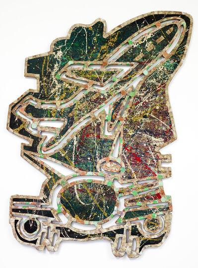 Meschac Gaba, 'Peinture Sculpture - Avion', 1995