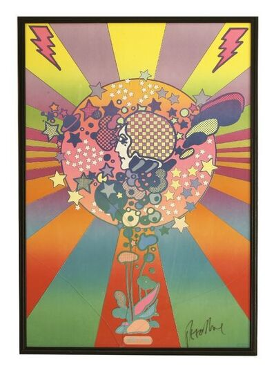 Peter Max, 'ADAM COSMO; LIFE IS BEAUTIFUL - DON'T SMOKE CIGARETTES; DOVE'