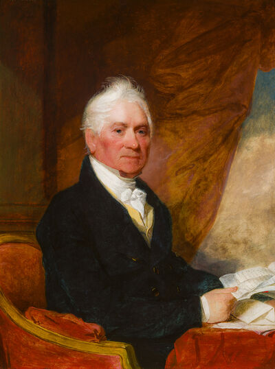 Gilbert Stuart, 'Portrait of Barney Smith', ca. 1825