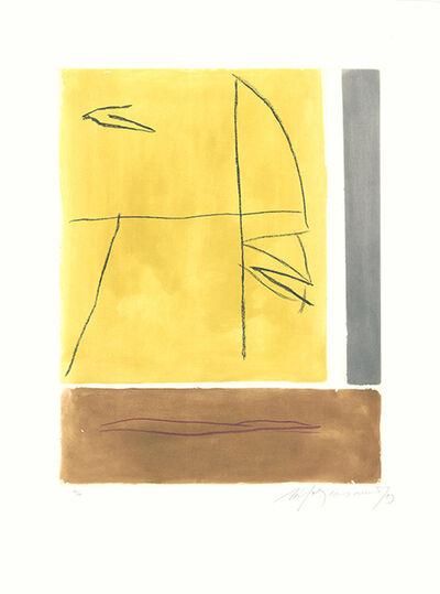 Albert Ràfols-Casamada, 'Brisa-2', 1993