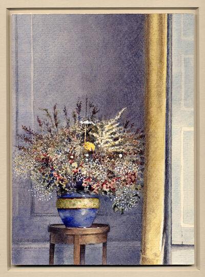 Óscar Tusquets Blanca, 'Flores secas en Fram Hall', 1987