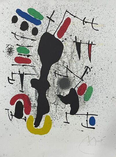 Joan Miró, 'Liberté des libertés 4', 1971