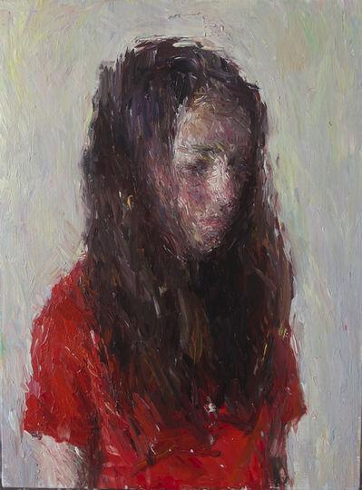 Daniel Enkaoua, 'Aure en tee shirt rouge', 2020