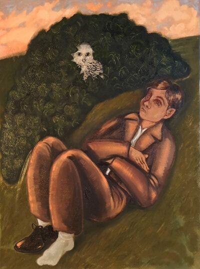 Plum Cloutman, 'Like an Owl in an Ivy-bush', 2019