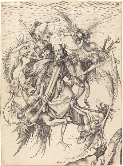 Martin Schongauer, 'The Tribulations of Saint Anthony', ca. 1470/1475