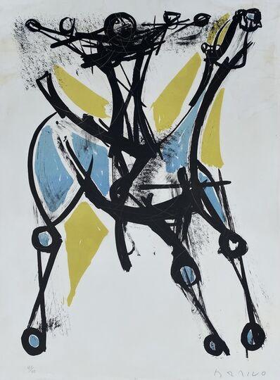 Marino Marini, 'Cavalier et Cheval, Jeune et Blue, 1952', 1952