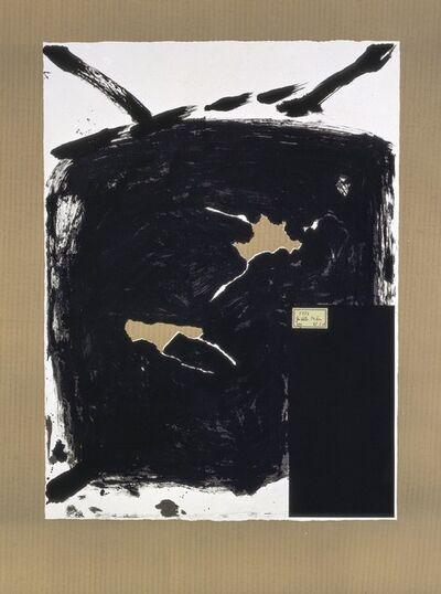Antoni Tàpies, 'Déchirure', 1984
