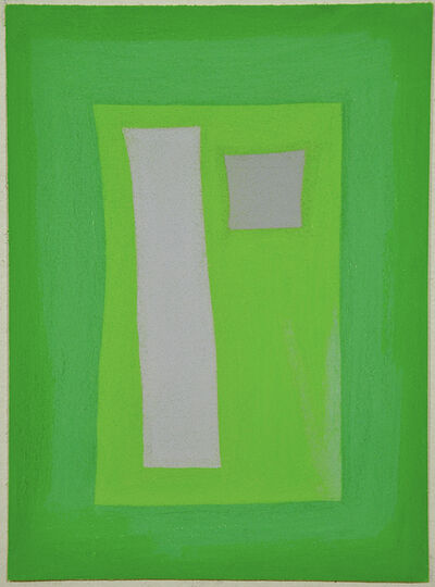 Julian Martin, 'Untitled (Mauve and Green Shapes)', 2010